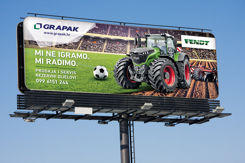 Grapak promo billboard