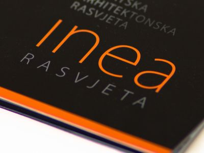 Inea lighting catalog design