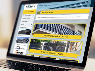 Benci-prom website