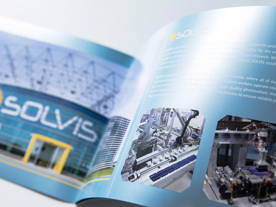 Solvis company product catalog
