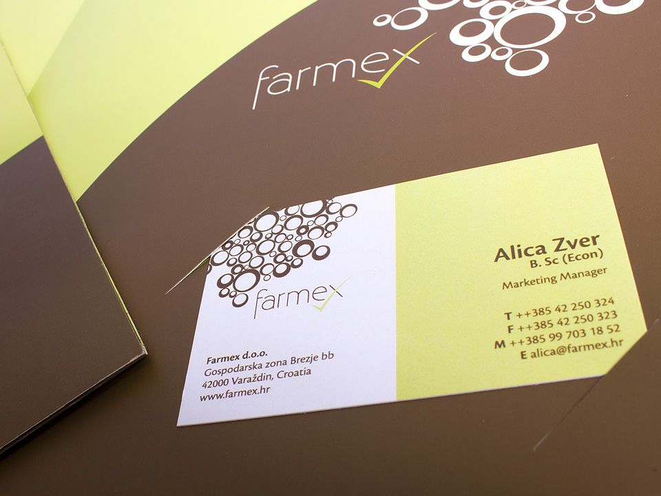 Farmex corporate materials