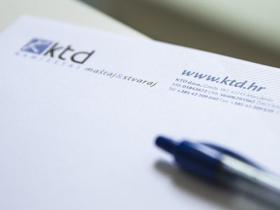 KTD furniture company brand identity and promo