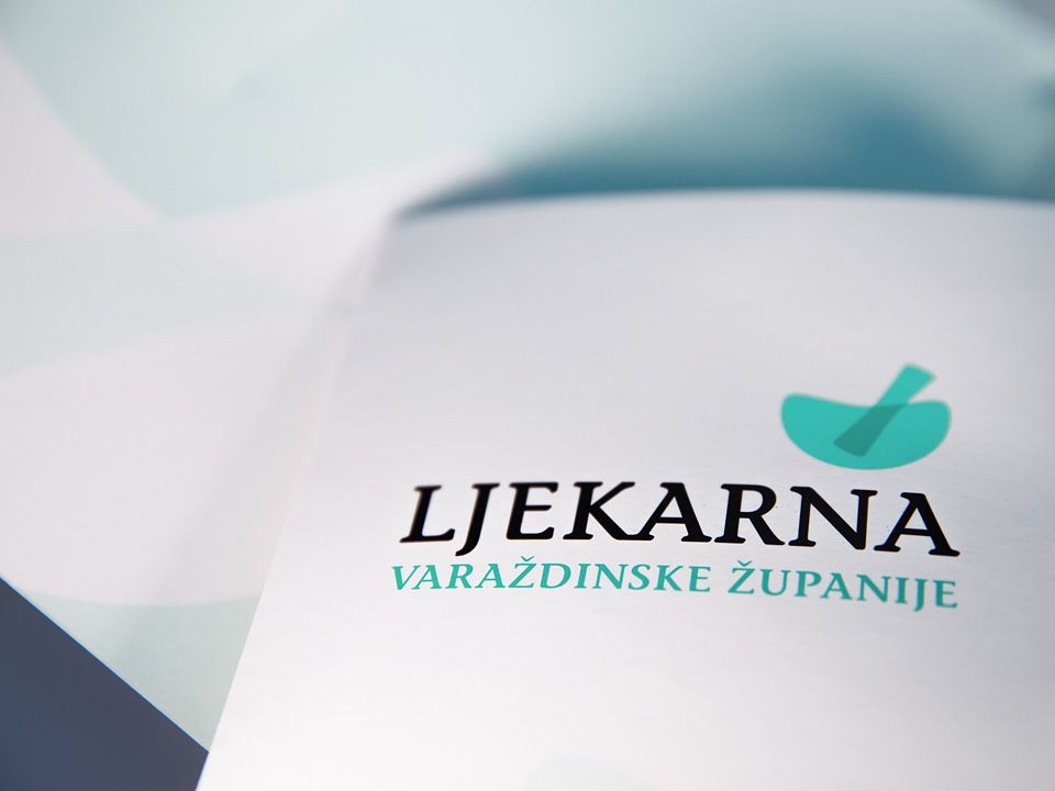 Varaždin County Pharmacy visual identity