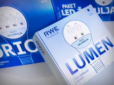 Packaging for LED bulb sets