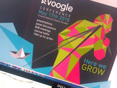 Posters and promotion of Voogle conference
