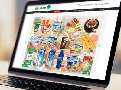 Bure supermarket website