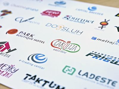 Logotype design, amblems, signs and signalisation design