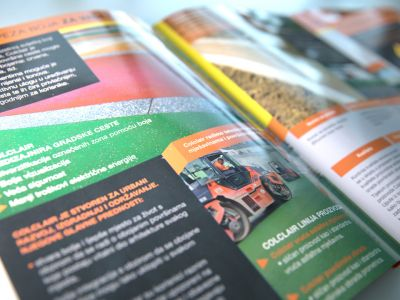 Brochure design and catalog design