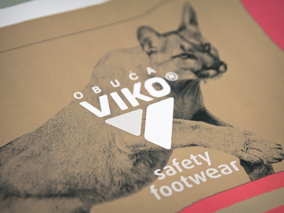 Visual identity and packaging of VIKO footwear