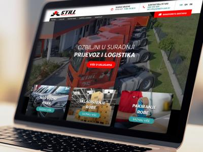 Still transport website