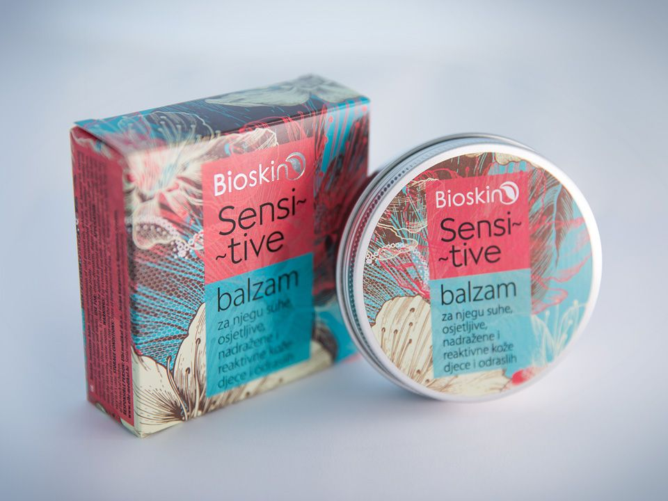 Bioskin product line branding and packaging design