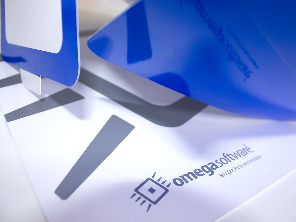 Omega Software business folder