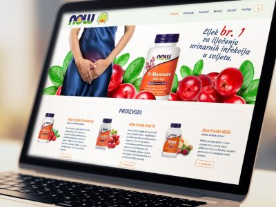 Now Foods brand website