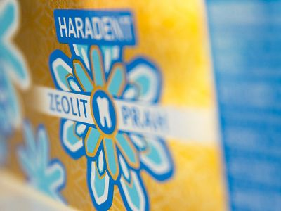 Haradent product line branding and packaging design