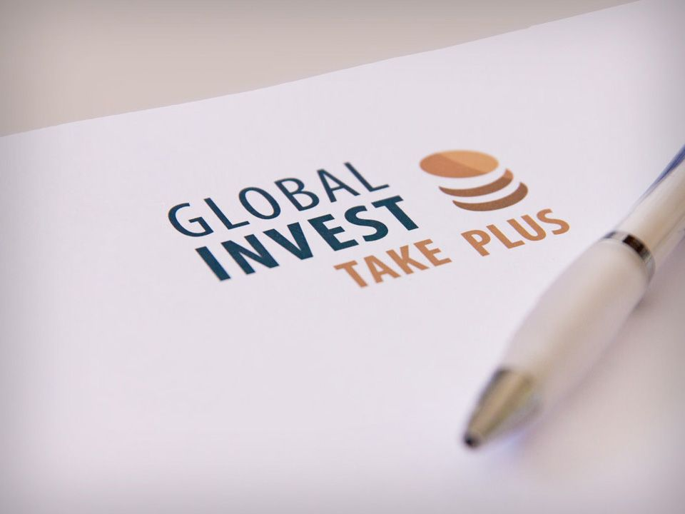Logos and ads of Global Invest services
